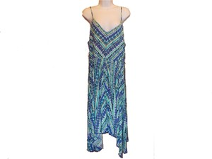 Cato short dress Multi colors of green, blue, and white on Tradesy