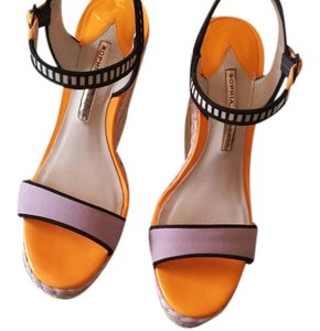 Sophia Webster Lucita . purple multi Wedges