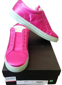 Marc by Marc Jacobs Satin Sneakers Pink Athletic