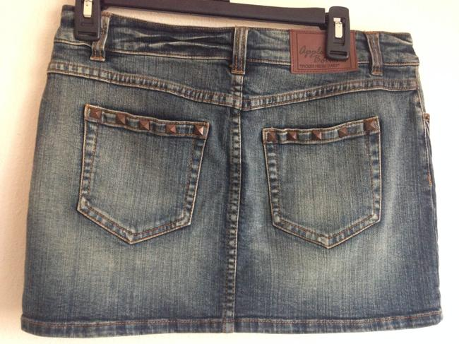 Apple Bottoms Apple Studs Jeans Mini Skirt Denim