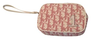 Dior Limited Edition Pink Dior Logo Clutch