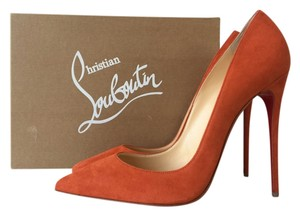 Christian Louboutin So Kate So Kate 120 120 120mm Suede Papaye 100 100mm Pigalle Follies Rouille Orange Pumps