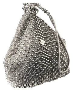 SG Liquid Metal Wristlet in Silver