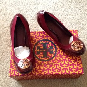 Tory Burch Red/bordeaux Wedges