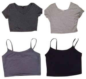 Forever 21 Lot Of 3 Crop 21 Sexy Cute Top