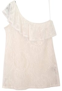 Leyendecker Lace Top white