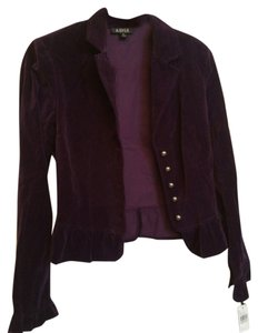 A. Byer Purple Purple Jacket