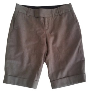 Banana Republic Stretch Martin The Martin Wool Dress Shorts Brown