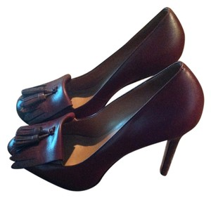 Ann Taylor Maroon/Brown Pumps
