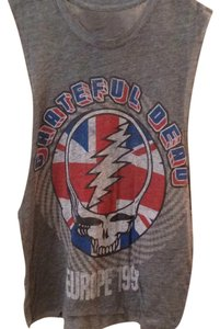 CHASOR Grateful Dead Muscle T Rocker Soft Festival Band Shirt Hippie Top