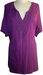 Avenue T Shirt PLUM