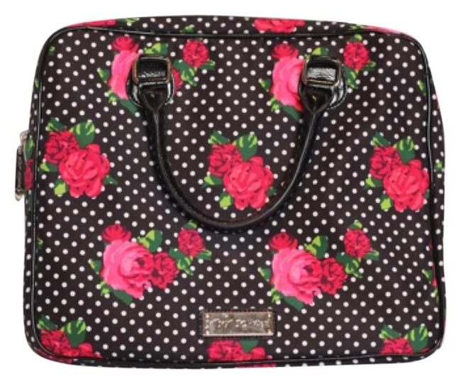 Item - Black Pink Green Laptop Bag