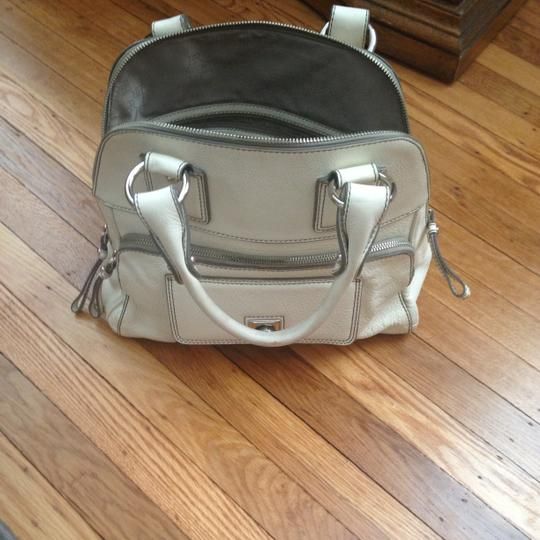 Banana Republic Satchel in Ivory