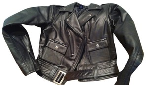 Polo Ralph Lauren Leather Zippered Leather Jacket