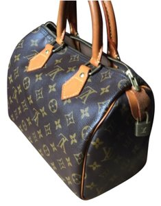Louis Vuitton Speedy Monogram 25 Satchel in Brown