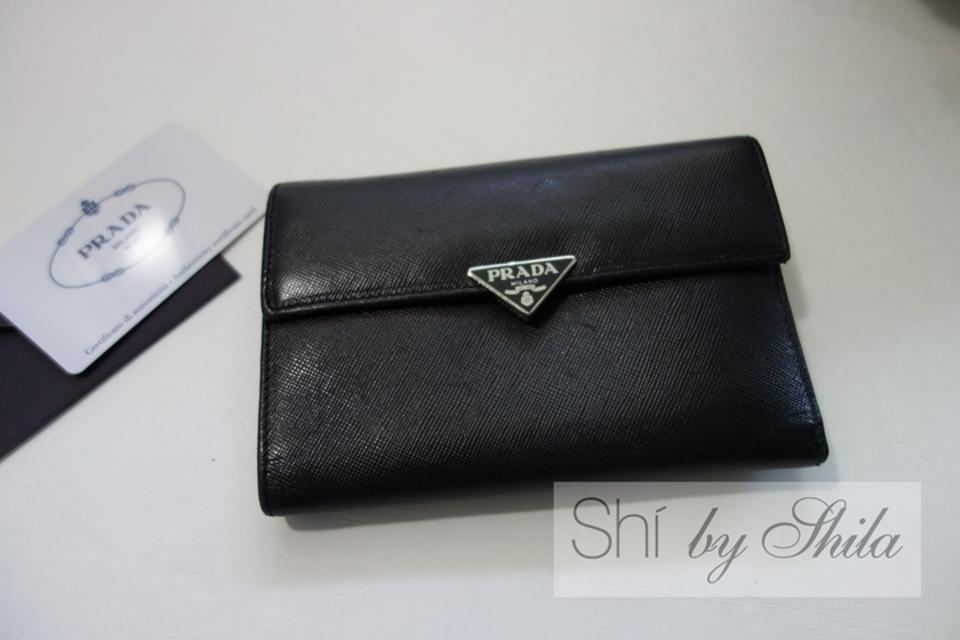 da83469a8a1e Prada Prada M510A Saffiano Leather Medium Wallet Image 11. 123456789101112
