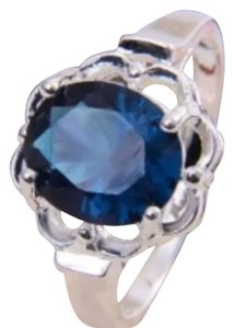 Other 925 Silver Sterling Hollow CZ Ring Size 7