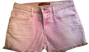 JOE'S Jeans Cut Off Shorts Faded Dark Magenta