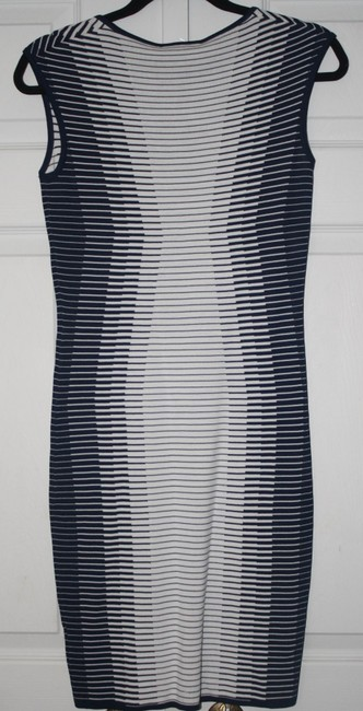 PREMISE short dress BLUE AND WHITE on Tradesy