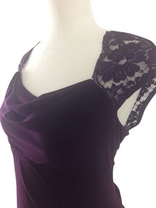 Dark Purple Maxi Dress by MSK
