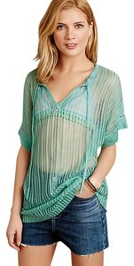 Field Flower Field Flower x Anthro Beach {cover up} sz M in Green