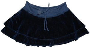 Juicy Couture P318 Size Small Mini Skirt BLACK