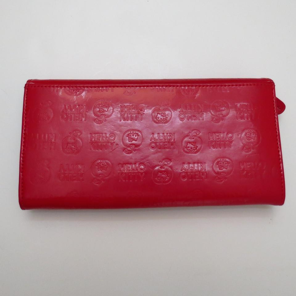 Sanrio Patent red sanrio mega wallet. 123456789101112 182a744afbb56