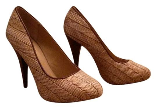MIA Night Out Date Night Party Brown Pumps Image 0