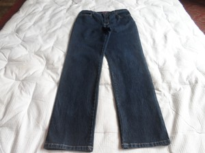 Gloria Vanderbilt Never Worn Straight Leg Jeans-Dark Rinse