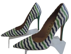 Miu Miu MULTI BLUE/GREEN Pumps