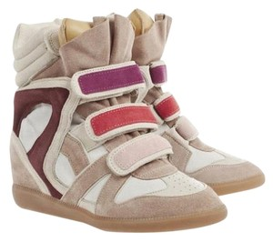 Isabel Marant Purple Wedges