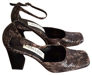 Sam & Libby Black & Grey Sandals