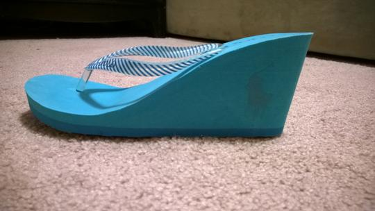 Polo Ralph Lauren teal Sandals