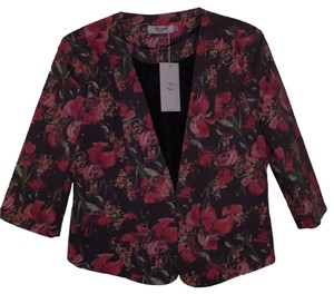 The Style London Red/Black/Pink multi Blazer