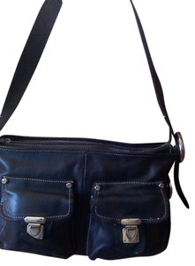 Francesco Biasia Leather Business Casual Shoulder Bag