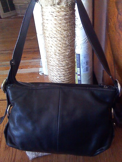 Francesco Biasia Leather Business Casual Shoulder Bag Image 3