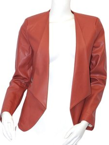 Jealous Tomato Rust Leather Jacket