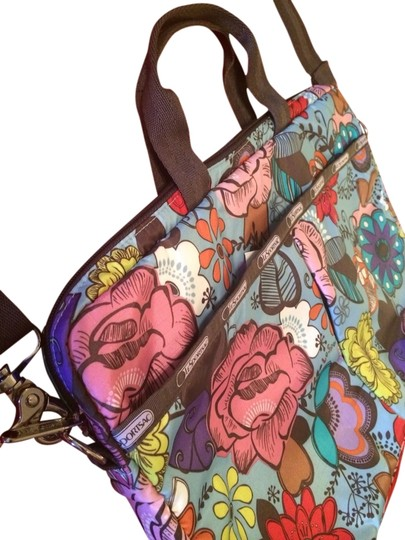 LeSportsac Cross Body Tote Messenger Laptop Bag