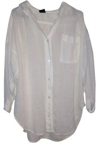 dotti Button Down Shirt White