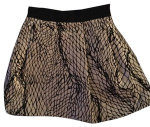 Dolce&Gabbana Mini Skirt Multi: black and white