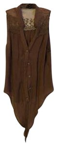 Edge Clothing Button Down Shirt Brown