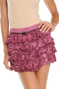 Ruffles Ruffle Mini Skirt Cherry