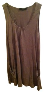Max Mara short dress tan/grey on Tradesy