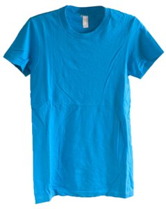 American Apparel T Shirt teal