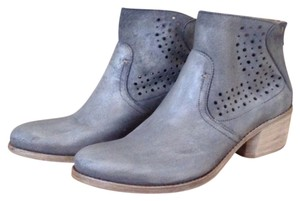 Khrio Leather blue Boots