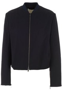 3.1 Phillip Lim Casual Comfortable Work Midnight Jacket