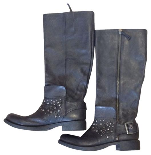 Preload https://item1.tradesy.com/images/nine-west-black-vintage-america-collection-tacine-leather-tall-riding-biker-bootsbooties-size-us-65--797520-0-0.jpg?width=440&height=440