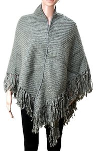 Other Rustic Fringed Wrap Cape