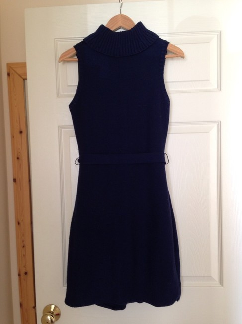 Calvin Klein short dress Navy Sweater Ck on Tradesy