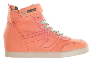 MOVMT - the people's movement Wedge Sneaker coral Athletic